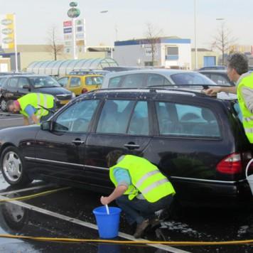 Auto's wassen